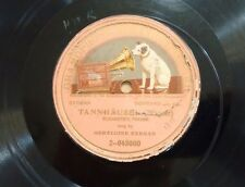 GERALDINE FARRAR ON GRAMOPHONE MONARCH 2-043000 Tannhauser German Opera 78 E-