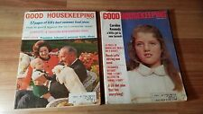 Vintage Good Housekeeping Magazine January 1969 Caroline Kennedy & LBJ