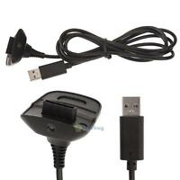 USB Charging Cable Adapter Replacement for Xbox 360 Wireless Game Controller 5V
