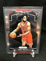 COBY WHITE 2019-20 Panini Prizm Base Rookie Card RC Chicago Bulls #253 A31