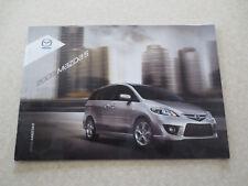 2009 Mazda 5 advertising booklet