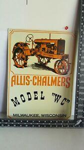 Allis Chalmers WC metal sign