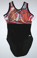 Nwt New Alpha Factor Leotard Leo Tank Velvet Hologram Geometric Paisley Women
