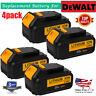 4 X For DEWALT DCB200-2 DCB204 20V Max 4.0Ah 20Volt XR Lithium-Ion Battery Pack