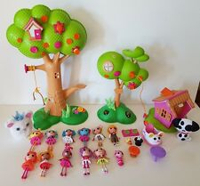 Lalaloopsy Minis TREEHOUSE PLAYSETS 12 Dolls & Lots of Extras Accessories