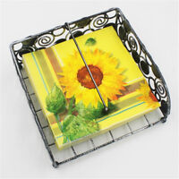 Sunflower Pattern Paper Napkins Disposable Birthday Wedding Party Table Decor bh