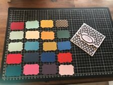 "Scrapbooking Die cuts Stampin Up Punch  Mixed "" Frame Shape   "" X 20"