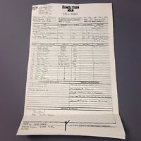 DEMOLITION MAN - Production Used Call Sheet Day 46