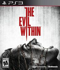 The Evil Within [PlayStation 3 PS3, Bethesda Survival Horror, Resident Evil] NEW