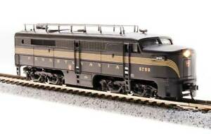 3850 Broadway N-SCALE Alco PA1 Powered - Sound and DCC - Penn Railroad 5752A