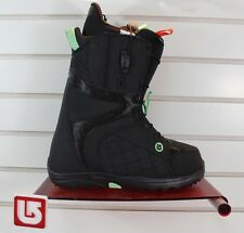 New 2016 Burton Mint Snowboard Boots Womens Size 7 Black / Mint