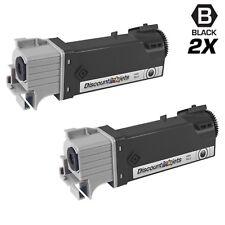 2PK Black HY Laser Toner Cartridge for Dell 2130cn 2135cn 330-1436 T106C 102C