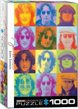 John Lennon Multi Coloured Images 1000 piece jigsaw puzzle 490mm x 680mm (pz)