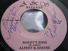 Hear Private Modern Soul Funk Boogie 45 : Alpert & Sheene ~ Love Is First ~ A&S