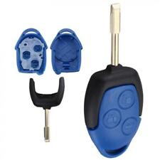 3 BUTTON REMOTE KEY FOB CASE SHELL COVER AND BLADE FIT FOR FORD TRANSIT VANS MK7