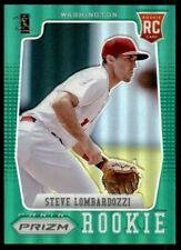 2012 Panini Prizm Steve Lombardozzi Rookie Washington Nationals #174 Green