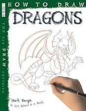 How to Draw Dragons, Mark Bergin, Very Good Book