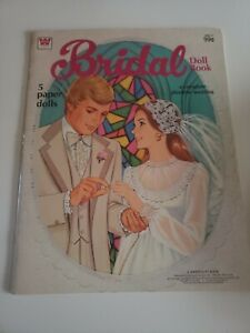 1978 Paper Dolls Book Bridal Complete Whitman USA