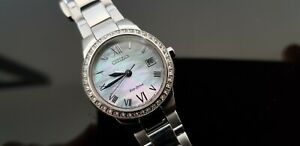 Citizen Eco-Drive Ladies Stainless Steel Bracelet Watch.