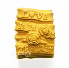 Love is in the Air S157 Silicone Soap mold Craft Molds DIY Handmade soap mould