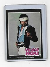Vhtf Oop 1978 - 1979 Victor From The Village People Trading Card