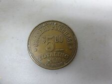 CHALLENGE COIN TOKEN WINCO FOODS GOOD FOR ANY GROCERY PURCHASE $5.00 #5555 OLDER