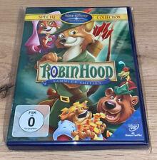 DVD Walt Disney Special Collection Robin Hood Sammler Edition