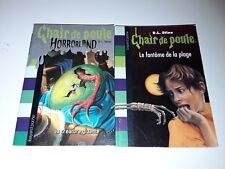 Lot 2 Chair De Poule Bayard Poche R.L.Stine CDP
