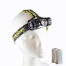 Nitecore HC50 760 Lumen XM-L2 LED Super Bright Headlamp w/ 2x CR123A Batteries