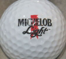 (1) Michelob Light Beer Alcohol Logo Golf Ball