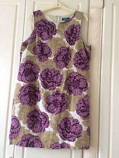 Floral Summer Sleeveless Dress Size 14