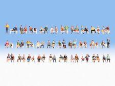 NOCH 16071 Mega-Spar-Set 60 Sitzende Figuren H0 Figuren für Modellbahn Anlage