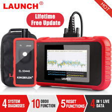 LAUNCH OBD2 Scanner CRP129E Scan Tool Code Reader Auto TPMS SAS Oil EPB Reset