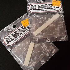 "2 ALLPARTS BS-0203-000 Classical Guitar Bone Saddle 3-3/16"" x 3/32"" x 3/8"""