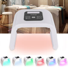 LED Licht Therapie Gesichtsmaske 7 Farben Photon Hautverjüngung Schönheit Gerät