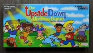 The Upside Down Divorce Game - Child's Work,Child's Play