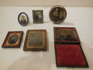 Lot of Small PICTURE FRAMES - EARLY 1900'S - ONE MONEY