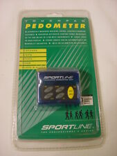 NEW SPORTLINE TOUCHPAD PEDOMETER 347