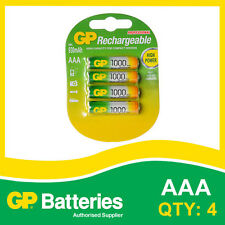 GP NiMH 950 AAA Battery card of 4 [RECHARGEABLE BATTERIES]