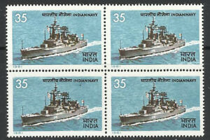 India Navy BLOCK 1981 Helicopter Navy Naval Ship Destroyer war military