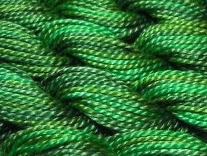 DMC PEARL COTTON COLOR VARIATIONS SIZE 5 #4047 Emerald Isles 27 yards