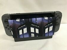 Nintendo Switch Dock Sock Dock Cover Screen Protector Doctor Who The Tardis