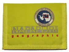 Portafoglio Uomo Donna Napapijri N3Z07 Men Women Wallet North Cape SLG fluo