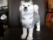 lovely simulation husky toy new standing husky dog model doll gift about 30cm