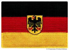 GERMAN EAGLE FLAG PATCH GERMANY DEUTSCHLAND IRON-ON embroidered Aufnäher NATION