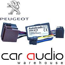 PC99-X19 Sony Peugeot 206 1998-1999 Car Stereo Steering Wheel Interface Adaptor