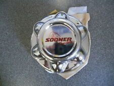 "SOONER 6 lug 5.5"" trailer chrome center cap hub cap hubcap"