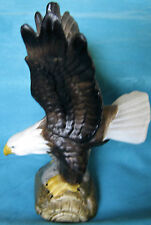 EAGLE W/UPLIFTED WINGS PORCELAIN FIGURINE MINIATURE