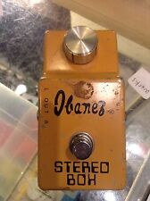 Vintage Ibanez Stereo Box ST-800 Script Logo pedal