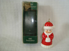 Goebel 1980 Third Edition Mrs. Claus Christmas Annual Ornament W. Germany